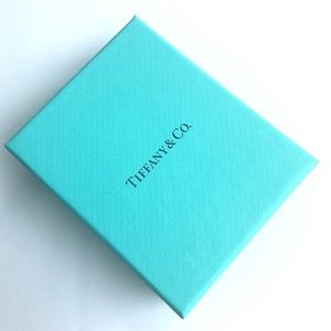 Tiffany's box and pouch